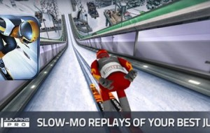 Ski Jumping Pro Lands for iPhone and iPad