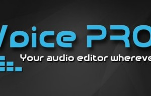 Professional Audio Software in Your Pocket -Voice Pro [Android]