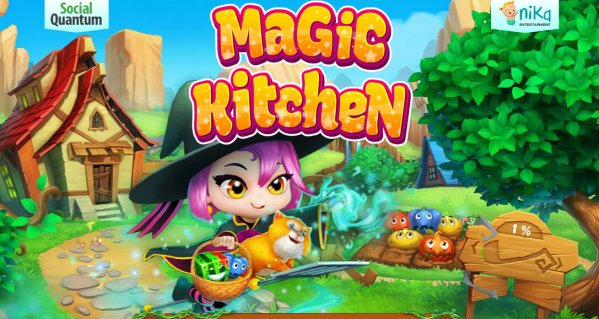 Cleaning Up The Magic Kitchen Match 3 Game For Android