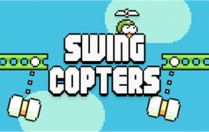 How far can you fly in Swing Copters? [Game Review]