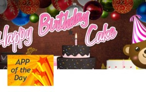 Happy Birthday Cake [Android App]