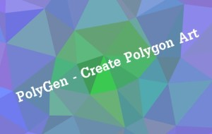 PolyGen – Create Polygon Art [Android, iOS App]