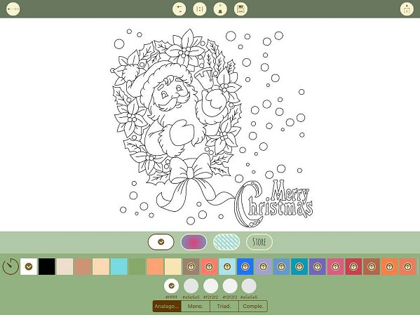To Color After You Have Chosen Image Simply Pick The Want Any Fill Pattern And Tap On Screen Where Go
