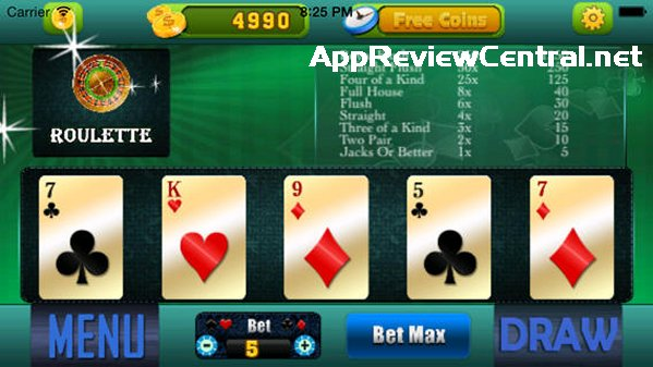 Poker 2 pairs or triple