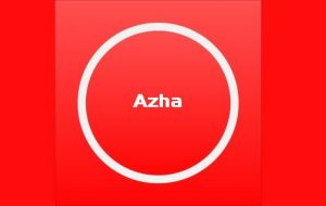 Azha [iOS To do List App]