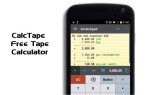 CalcTape [Android App]
