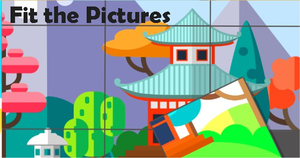 Fit the Pictures – Puzzle Game [Review]