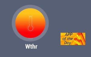 Wthr : Innovative World Weather Forecast & HD Radar [iOS App]