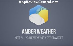 Amber Weather [Android App]